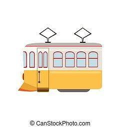 Tram Public Transportation Portuguese Famous Symbol....