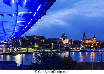 National Museum and Maritime University in Szczecin....