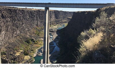 Hansen Bridge higway 50 Idaho - Concrete Deck Girder Bridge...