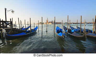 Morning in Venice - Vacation in romantic Venice at sunny...