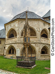 Maria Saal, Austria - Pagan temple and Gothic light column...