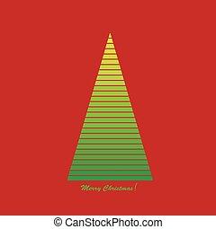 Illustration of a Christmas tree