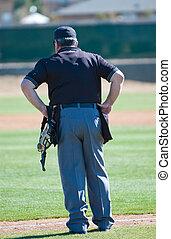 beisball, árbitro