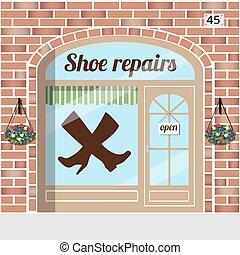 shoe repairs service