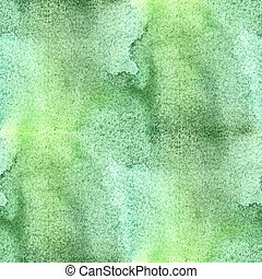 colorful abstract green seamless watercolor for background....