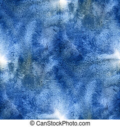 abstract colorful seamless watercolor for background blue....