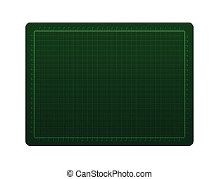 Green cutting rubber isolated on the white background vector...