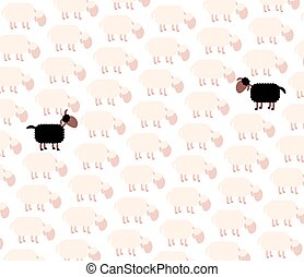 Black Sheep Fellow Sufferer - Black sheep - fellow sufferer...
