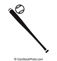 Baseball icon in black style isolated on white background....