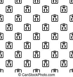 Floor scales pattern, simple style - Floor scales pattern....