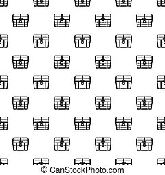 Dower chest pattern, simple style - Dower chest pattern....