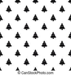 Fir tree pattern, simple style - Fir tree pattern. Simple...