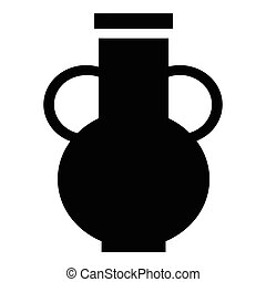 Pitcher icon, simple style - Pitcher icon. Simple...