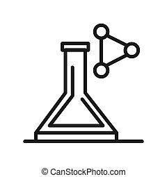 chemistry lab illustration design
