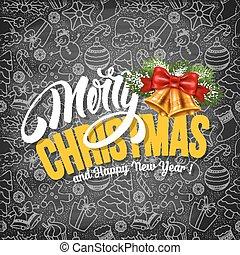 Christmas Greeting Card Template - Christmas Greeting Design...