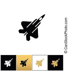 Air force navy airforce vector military plane or fighter jet...