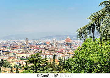 View of Florence with Cathedral