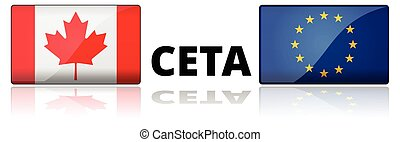CETA - comprehensive economic and trade agreement between Canada and the European Union.
