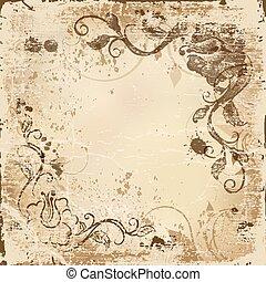 old vintage paper