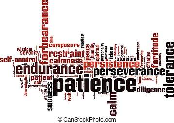 Patience word cloud