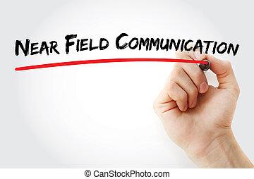 Hand writing Near Field Communication