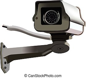 Security Camera - CCTV surveillance security camera video...