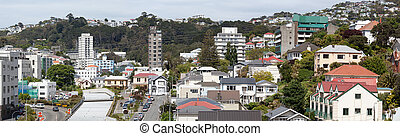 Wellington Residential Panorama - The panoramic view of...