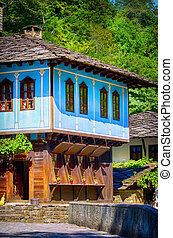 Bulgarian Old Style Wooden House