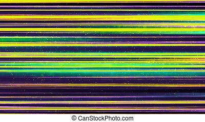 Green Lines of Light Technology Abstract Background