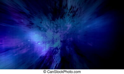 Blue magenta looping motion background