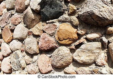 part of a stone wall