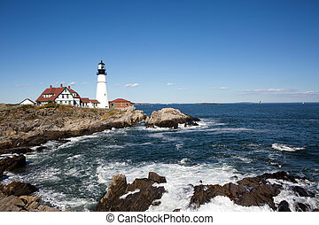 Portland Head Lighthouse Maine - Portland Head Lighthouse,...