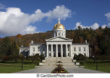 Vermont State House Capital Building - Vermont State House...