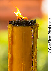 Candle lanna style