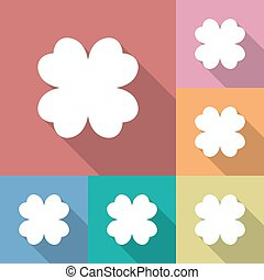 Four leaf clover icon.