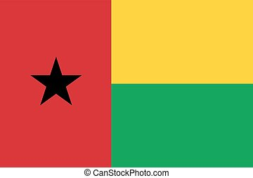 Flag of Guinea - Bissau