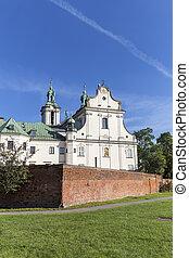 Church on Skalka, Pauline Fathers Monastery, Krakow, Poland....