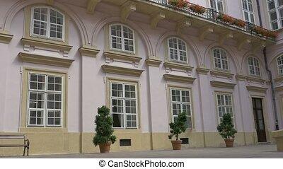 Baroque Interior Yard Bulding - Interiror courtyard facade...