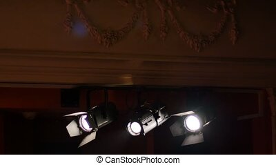 Light Projectors at Theater