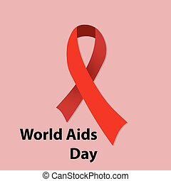 ?????? - 1st December, World Aids Day concept with stylish...