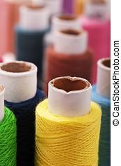 threads multicolored