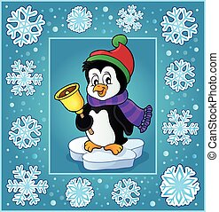 Christmas subject greeting card 6 - eps10 vector...