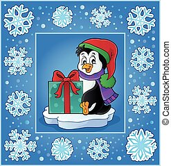 Christmas subject greeting card 9 - eps10 vector...
