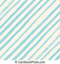 Brush strokes blue diagonal lines isolated on white background.