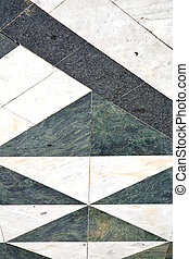 busto street lombardy abstract pavement curch - busto...