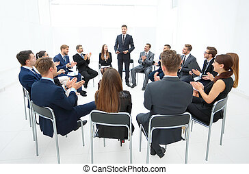Business People Meeting Conference Discussion Corporate...