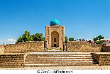 View of Bibi-Khanym Mausoleumin Samarkand - Uzbekistan