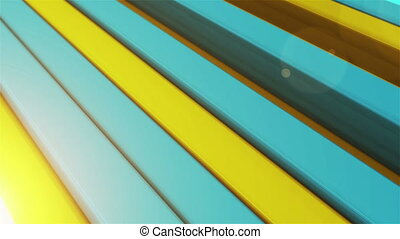 """Colorful stripes"" - ""3d rendering of Animation of colorful..."