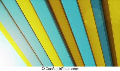 """Colorful stripes"" - ""Animation of colorful striped..."