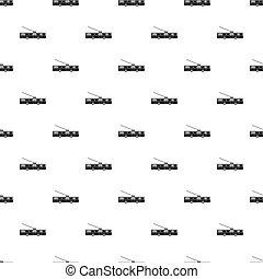 Trolleybus pattern, simple style - Trolleybus pattern....